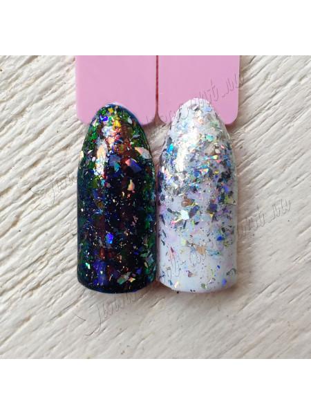 Хлопья для дизайна ногтей  Galaxy №1