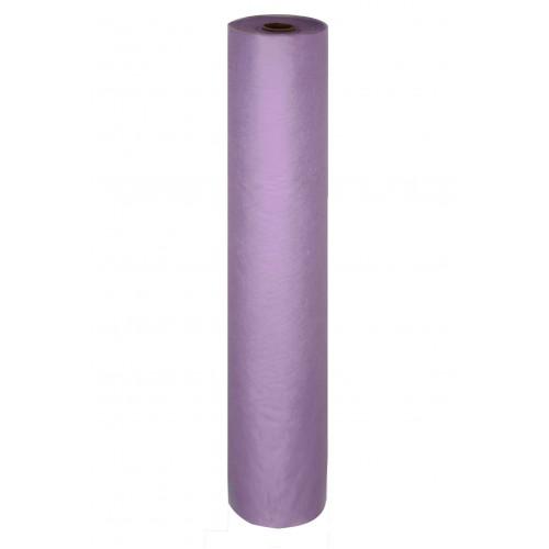 Простыня одноразовая White line 70*200 SS 17 фиолетовый 100шт. рол