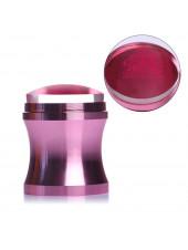 Штамп для стемпинга №3 розовый 3,9см + скрапер